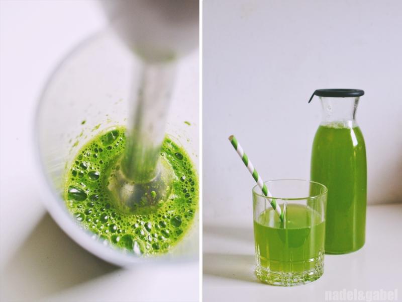 parsley elderflower juice