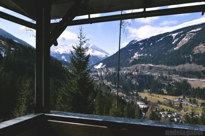view on Gastein valley