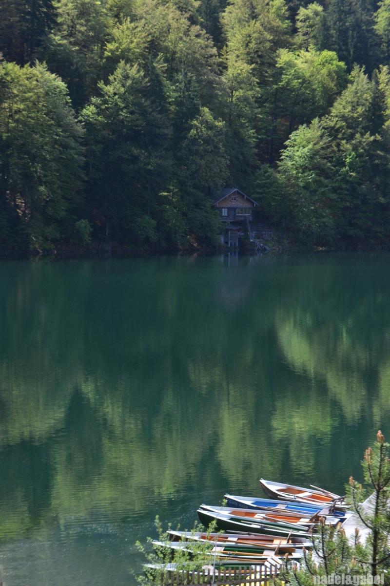 mountain lake Oberstdorf
