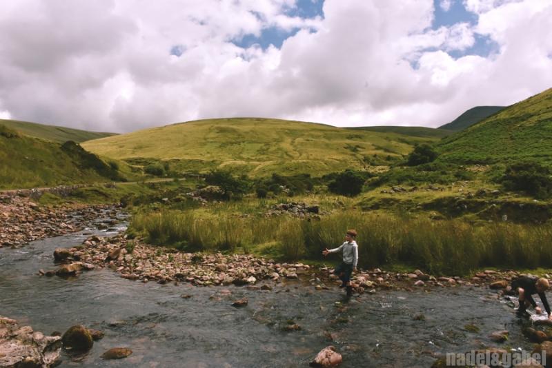 Afon Sawdde, Llandeusant