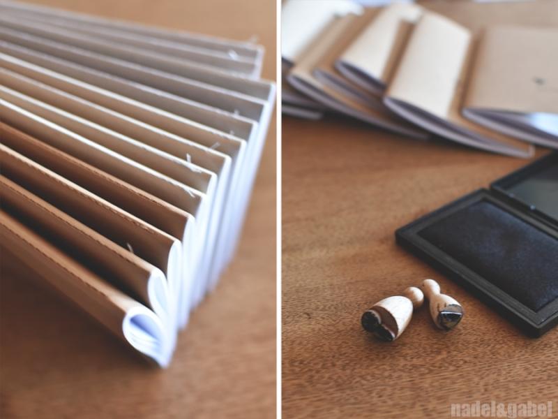 DIY notebooks moleskine style