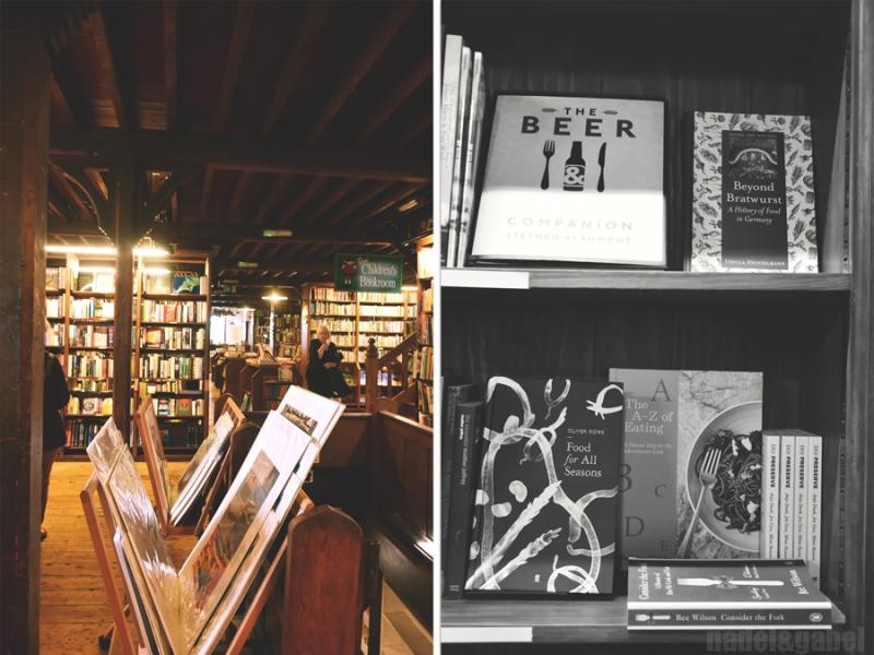 Hay-on-Wye bookshop