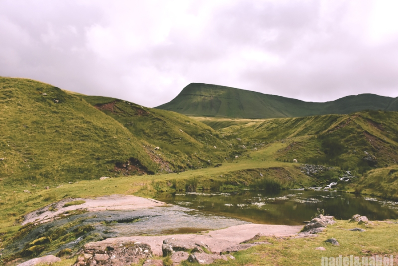 up to Llyn y Fan Fach