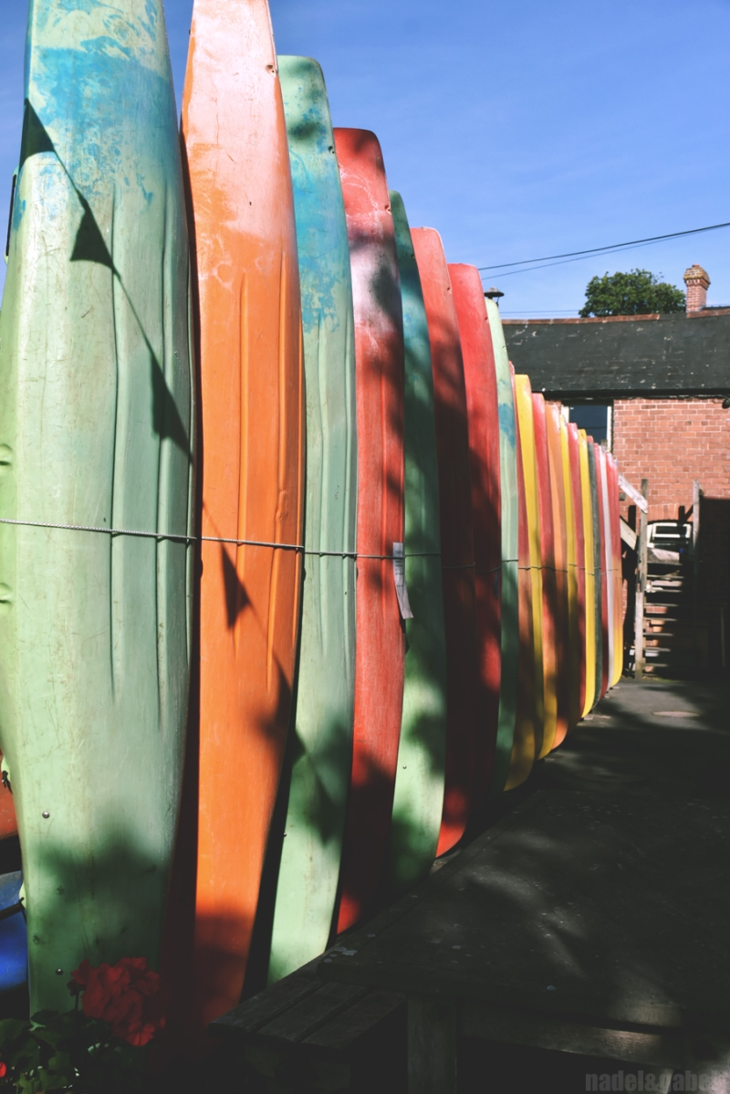Wye valley canoes