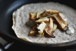 buckwheat-galette-with-pears-gorgonzola-and-mushrooms