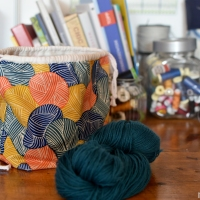 Well equipped - Knitters project bag