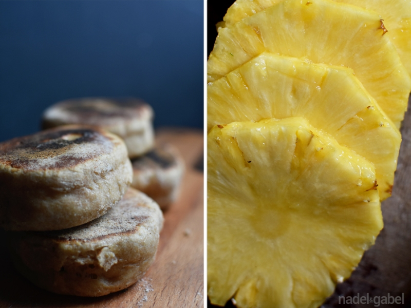 Azorean sweet bread - pineapple