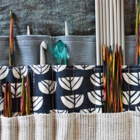 Neat - Knitting needle book