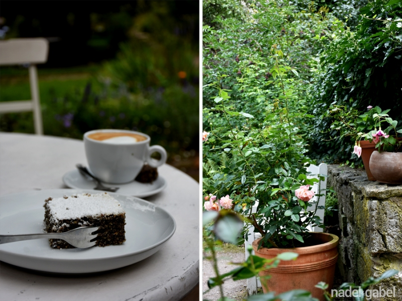 Cafe Caroline & Herder-Garten - Weimar