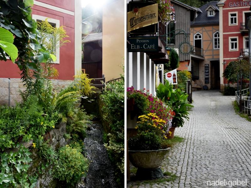 idyllic Saxonian village