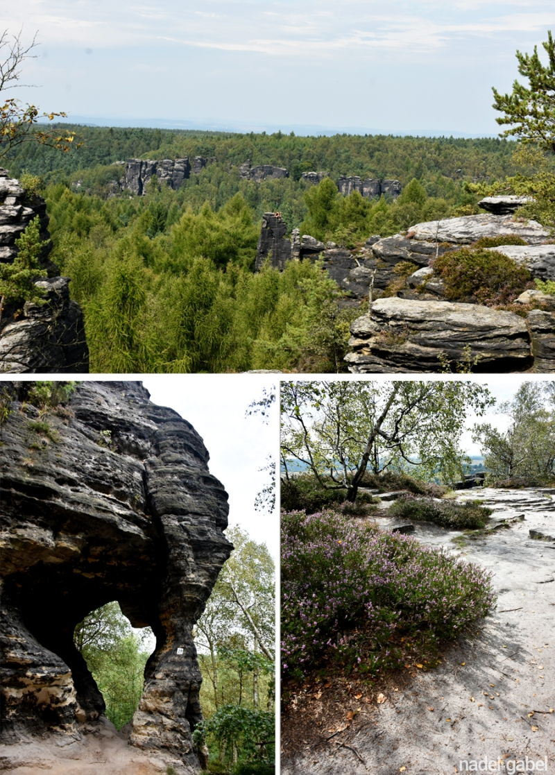 rocks of Tisá - Czech Republic