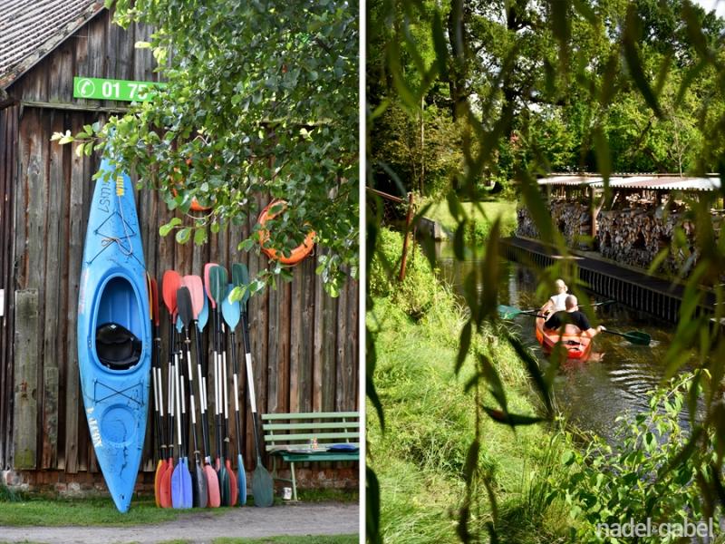 Schlepzig - canoeing