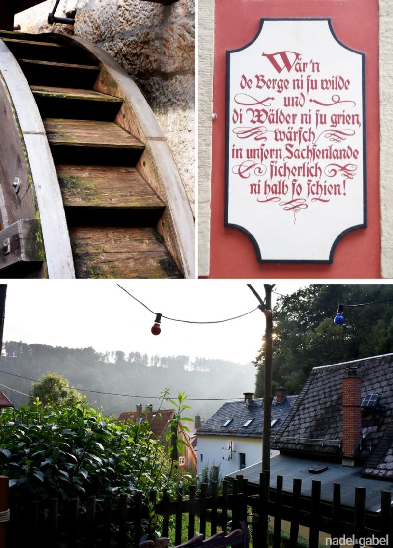 village Schmilka - Saxon Swizerland