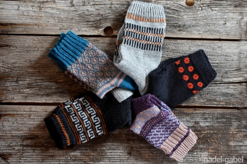 knit socks - Coop Knits, stine und stich, kanoko