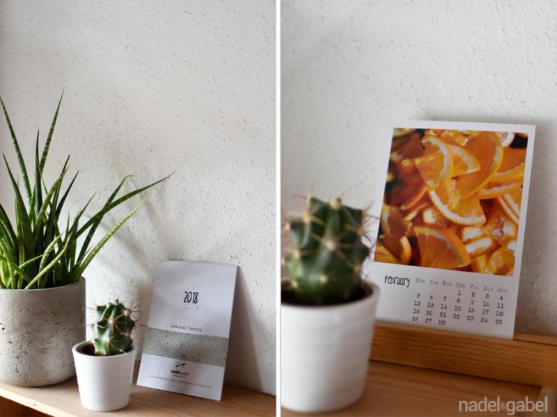 natural beauty - calendar 2018 nadel&gabel